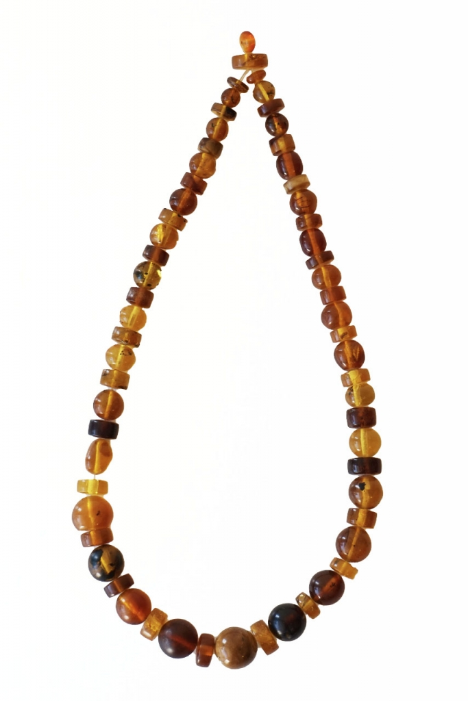 Golden Amber Necklace