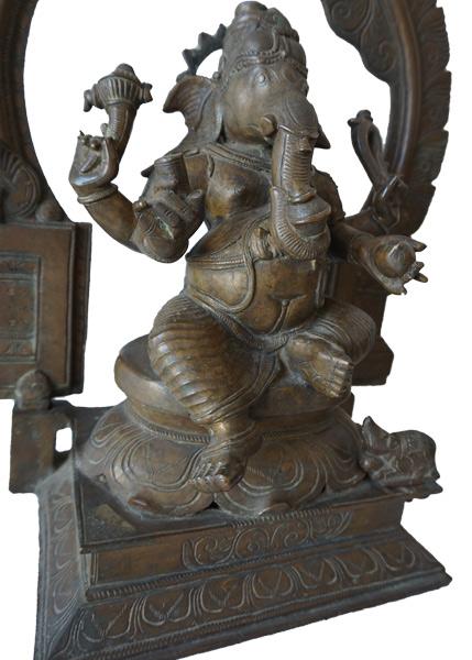 Bronze Ganesh