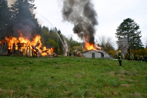 Whatcom Fire Dept. training burn