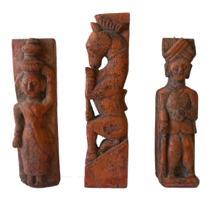 Three Rajasthani Figure