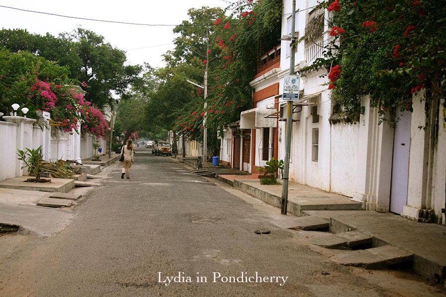Lydia in Pondicherry