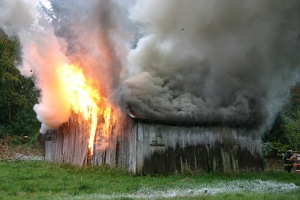 the barn fire