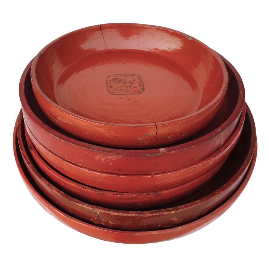 Burmese lacquer bowls