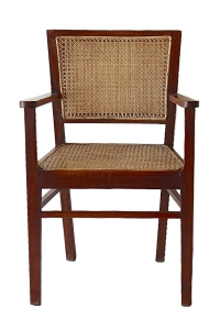 caned teak chairs