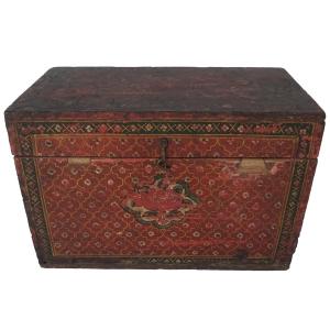 Antique manuscript box