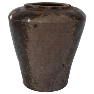 antique martaban ceramic pot