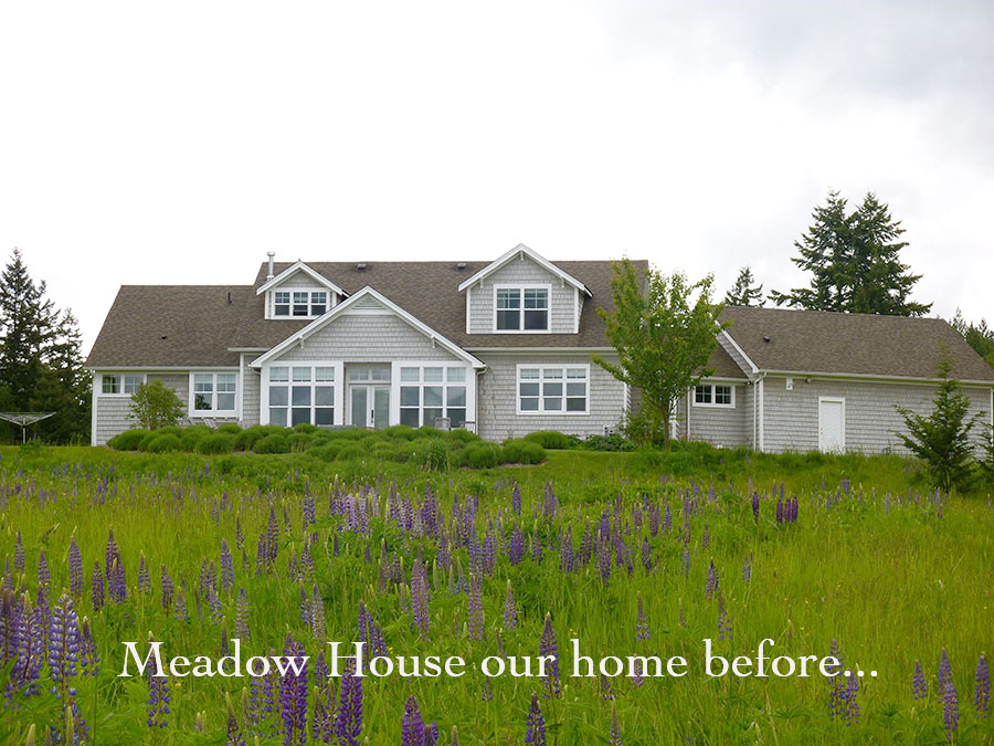 Meadow House our home across the road