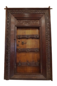 Teak Chettinad Door