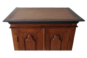 rosewood and teak low cabinet