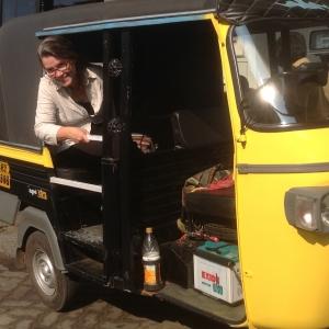 Lydia rickshaw