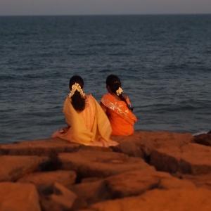 Evening Sun in Pondicherry