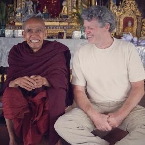 Kurt Scherer and Inle Monk