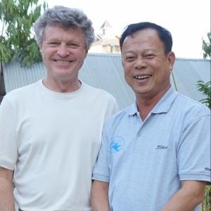 Kurt Scherer and Ka Myo -Queen Inn-Inle lake