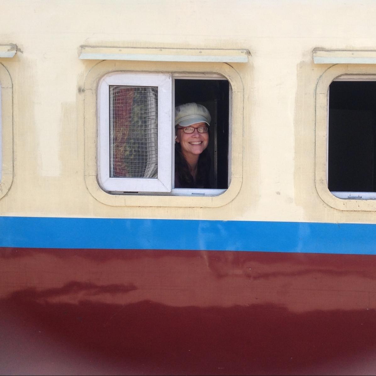 Lydia Scherer-Myitkyina train