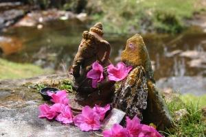 Ganesha & Naga by the stream