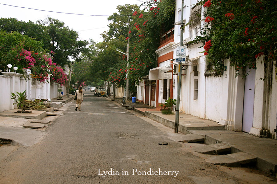 Lydia in Pondicherry