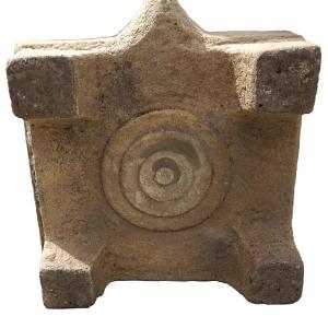 Hindu sandstone altar