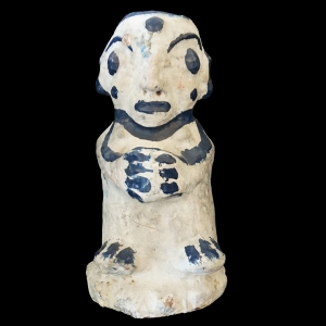 Folk art terra-cotta figure