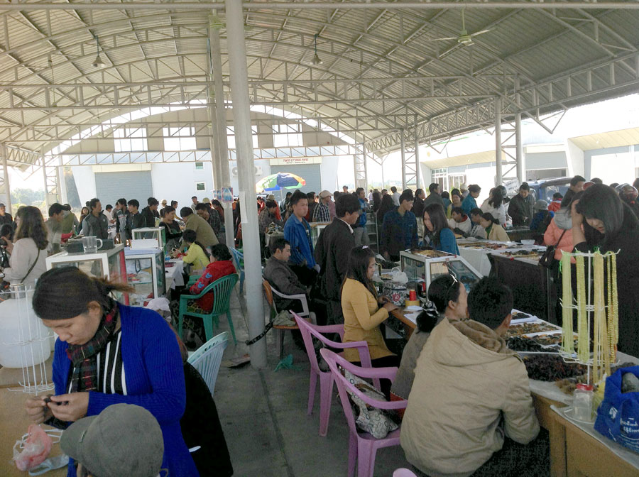 northern Myanmar amber market