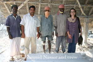 Mohammid Nasser and crew