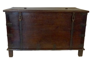 antique Indian strong box