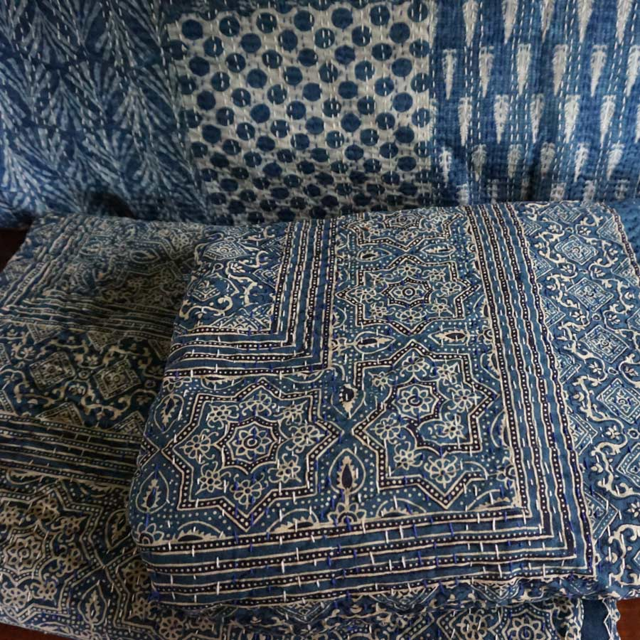 indigo textiles from Bhuj