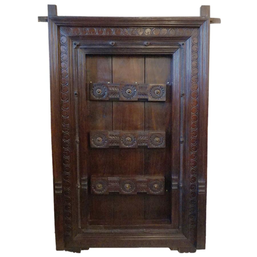 Rosewood door