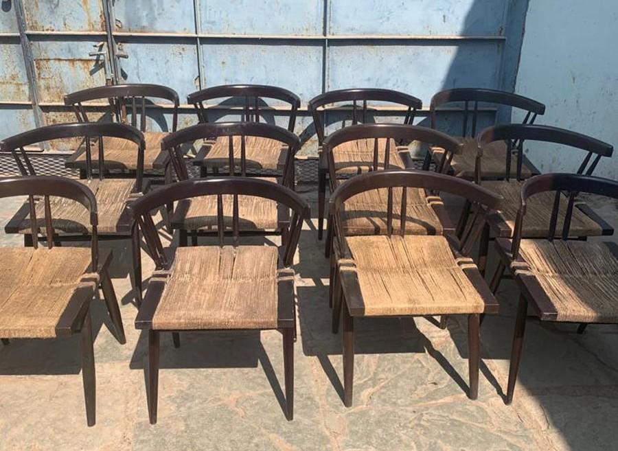 Nakashima chairs