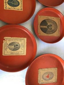Original stamps of Burmese lacquerware makers