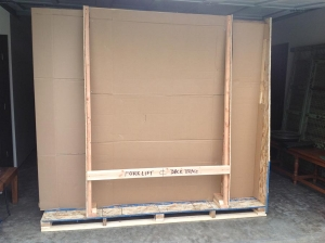 wall panel ready for shipping